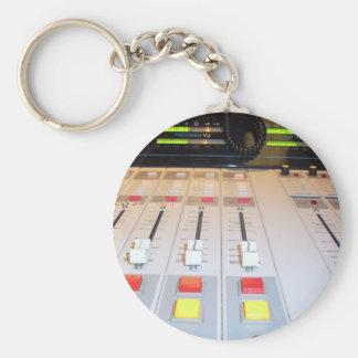 radio console keychain