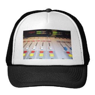radio console trucker hat