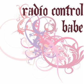 Radio Control Babe Photo Sculpture Ornament