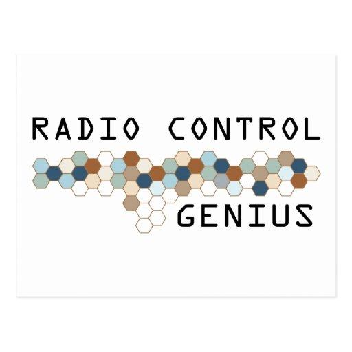 Radio Control Genius Postcard