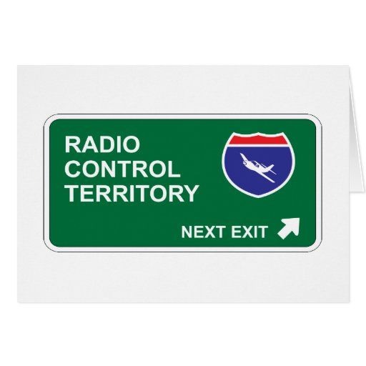 Radio Control Next Exit Cards