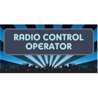 Radio Control Operator Marquee Photo Sculpture Ornament