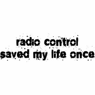 Radio Control Saved My Life Once Photo Sculpture Ornament