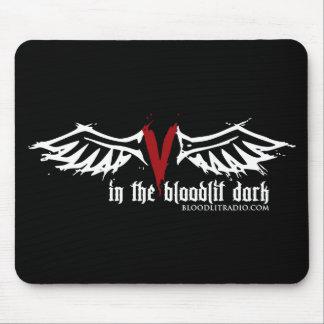 Radio de Bloodlit: En la oscuridad de Bloodlit Alfombrilla De Raton