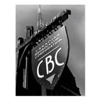 Radio de CJBC Tarjeta Postal