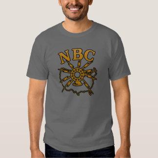 Radio de difusión del NBC Remera