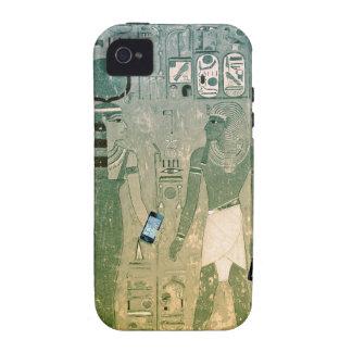 Radio de Egipto antiguo Carcasa Case-Mate Para iPhone 4