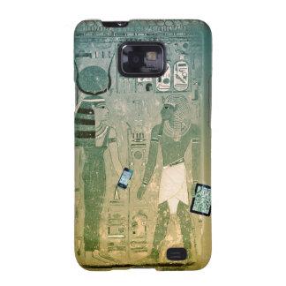 Radio de Egipto antiguo Carcasa Para Samsung Galaxy S2