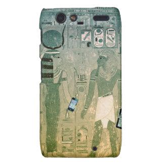 Radio de Egipto antiguo Funda Para Droid RAZR