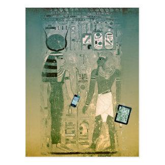 Radio de Egipto antiguo Tarjetas Postales