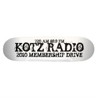 RADIO DE KOTZ, 2010 CAMPAÑA DE AFILIACIÓN, 720 89, PATÍN PERSONALIZADO