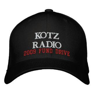 RADIO DE KOTZ, IMPULSIÓN DE 2009 FONDOS GORRA DE BÉISBOL BORDADA