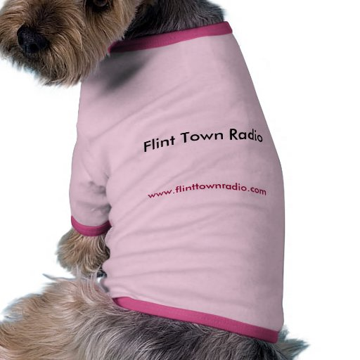 Radio de la ciudad del pedernal, www.flinttownradi ropa para mascota