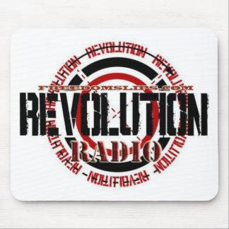 Radio de la revolución alfombrilla de ratón