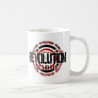 Radio de la revolución tazas de café