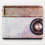 radio de los años 70 tapete de ratones