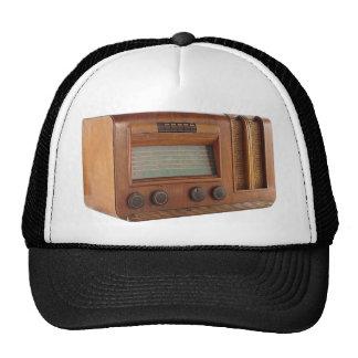 Radio de madera corta gorros