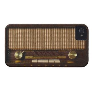 Radio de madera del vintage iPhone 4 cárcasa