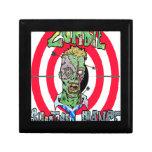 Radio de tiro del zombi caja de regalo