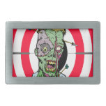 Radio de tiro del zombi hebillas cinturon rectangulares