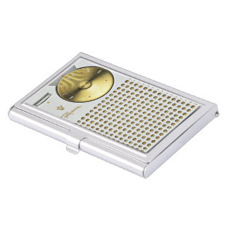 Radio de transistor del vintage cajas de tarjetas de negocios