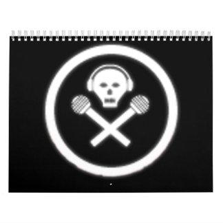 Radio del agujero de Bunneh Calendarios