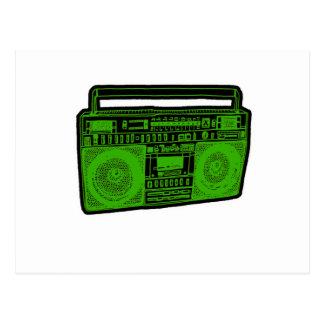 radio del arenador del ghetto del boombox postal