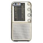 Radio del metal del vintage