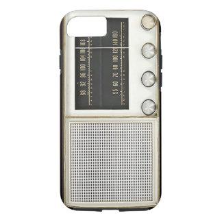 Radio del metal del vintage funda iPhone 7