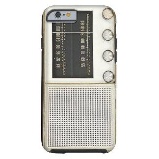Radio del metal del vintage funda resistente iPhone 6