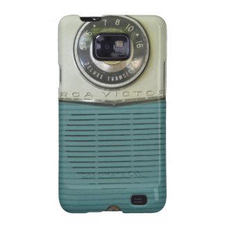 Radio del vintage galaxy SII carcasa
