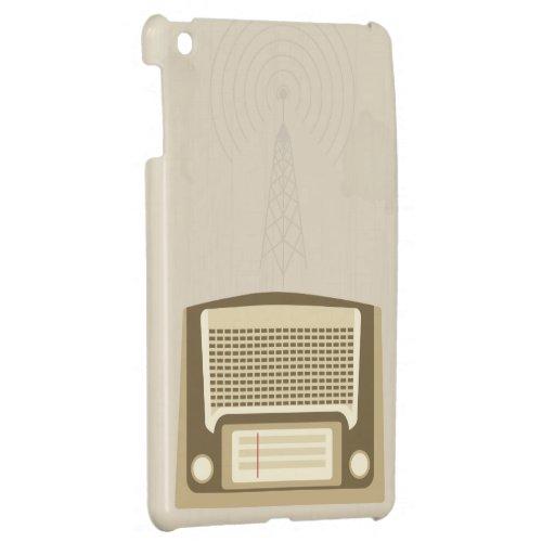 Radio del vintage iPad mini cárcasas