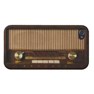 Radio del vintage iPhone 4 cárcasa