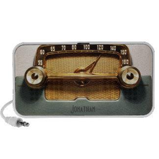 Radio del vintage - obra clásica iPod altavoces