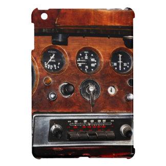 radio e instrumentos de coche del vintage