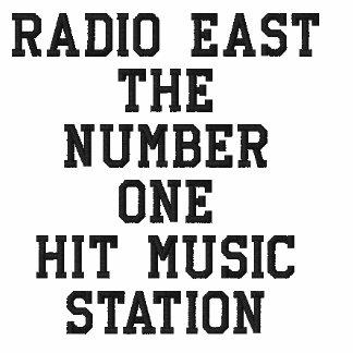 Radio East Embroidery