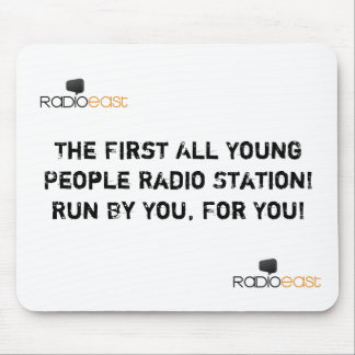 Radio East Official Mouse Pad