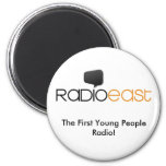 Radio East Official Proud Button Magnet