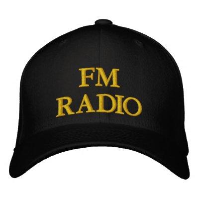 RADIO EMBROIDERED HAT