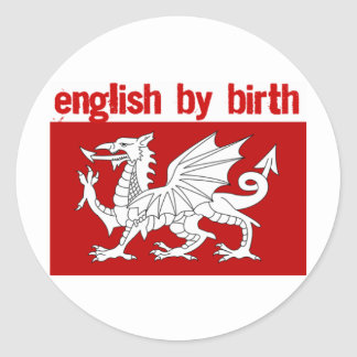 Radio England Merchandise Classic Round Sticker