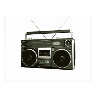 Radio estéreo de Boombox Postales