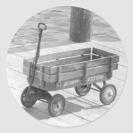 Radio Flyer Wagon Sticker