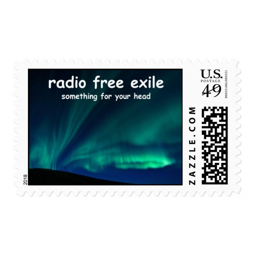 radio free exile postage stamps