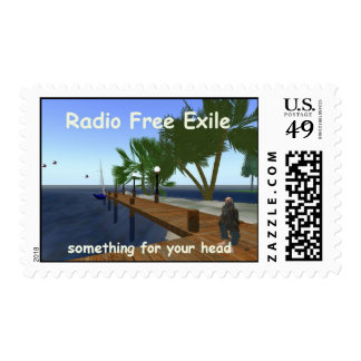 radio free exile - something for your head postage