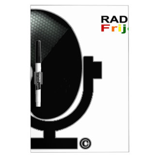 RADIO FRIJOL, MIC, CUSTOMIZABLE PRODUTCS Dry-Erase BOARD