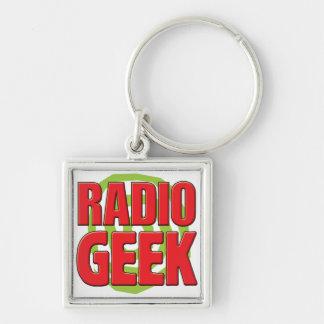 Radio Geek Key Chain