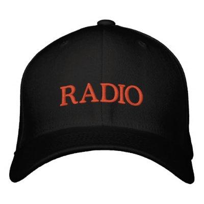 RADIO GORRO BORDADO