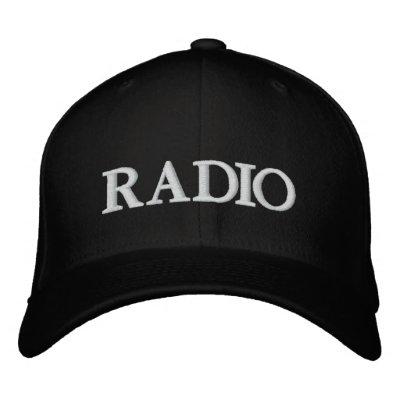 RADIO GORRA DE BÉISBOL BORDADA