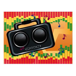 Radio Groove Postcard
