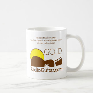 Radio Guitar GOLD Mug